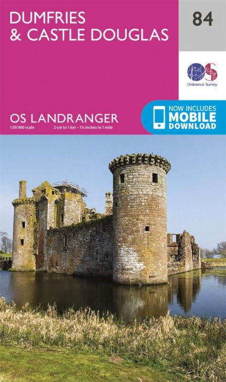 OS Landranger 84 Dunfries and Castle Douglas